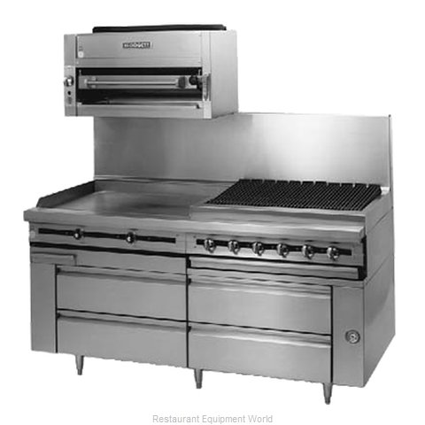 Blodgett BPRLH-04R-T-72 Refrigerated Counter Griddle Stand