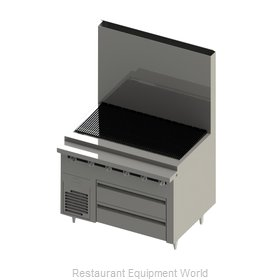 Blodgett BRLH-02S-B-36 Equipment Stand, Refrigerated / Freezer Base