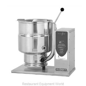 Blodgett Steam 10E-KTT Electric Tilting Kettle