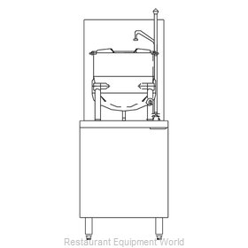 Blodgett Steam CB24G-10K Kettle Cabinet Assembly, Gas