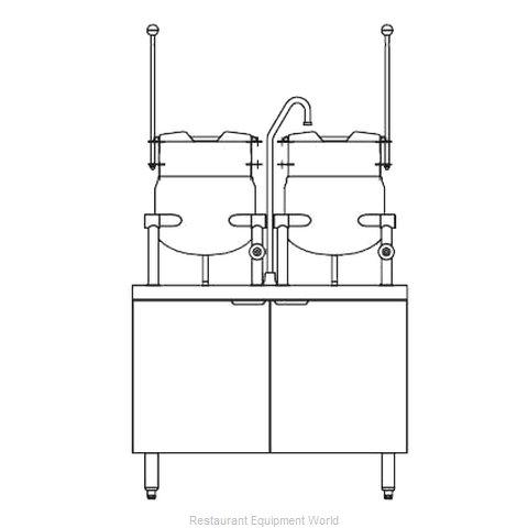 Blodgett Steam CB36D-6-6K Kettle Cabinet Assembly, Direct-Steam