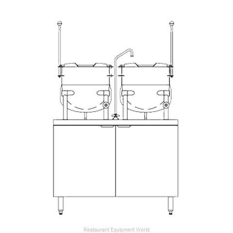 Blodgett Steam CB42G-10-10K Kettle Cabinet Assembly, Gas