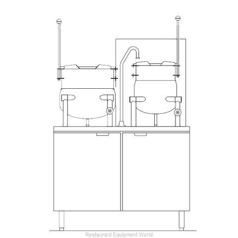Blodgett Steam CB42G-10-6K Kettle Cabinet Assembly, Gas