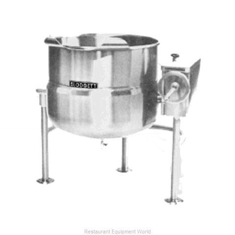 Blodgett Steam KLT-100DS Kettle, Direct Steam, Tilting