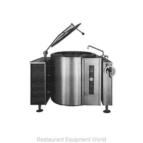Blodgett Steam KLT-40G Kettle, Gas, Tilting