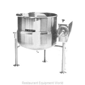 Blodgett Steam KLT-80DS Kettle, Direct Steam, Tilting
