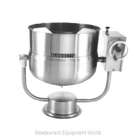 Blodgett Steam KPT-80DS Kettle, Direct Steam, Tilting