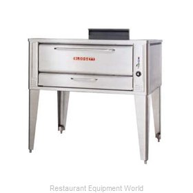 Blodgett Oven 1048 BASE Pizza Oven, Deck-Type, Gas