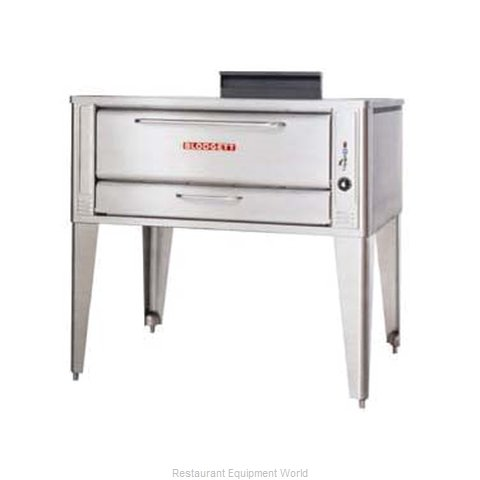 Blodgett Oven 1048 SINGLE Pizza Oven, Deck-Type, Gas