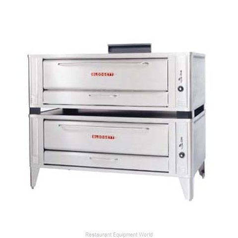 Blodgett Oven 1060 DOUBLE Pizza Oven, Deck-Type, Gas