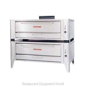 Blodgett Oven 1060 DOUBLE Pizza Oven Deck-Type Gas