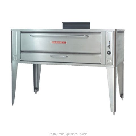 Blodgett Oven 1060 SINGLE Pizza Oven, Deck-Type, Gas