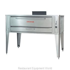 Blodgett Oven 1060 SINGLE Pizza Oven Deck-Type Gas