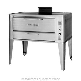 Blodgett Oven 901 DOUBLE Oven, Deck-Type, Gas
