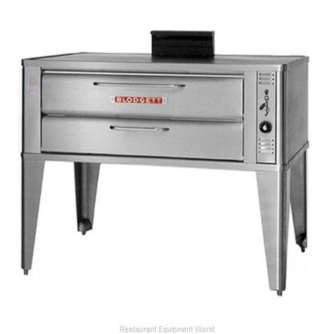 Blodgett Oven 911P SINGLE Pizza Oven, Deck-Type, Gas