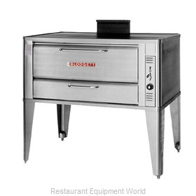 Blodgett Oven 951 SINGLE Oven, Deck-Type, Gas