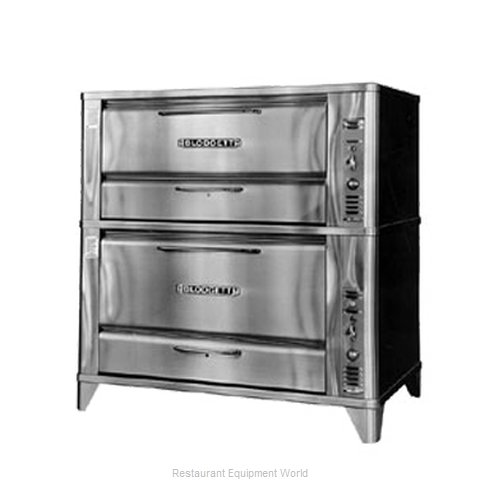 Blodgett Oven 961-966 Oven, Deck-Type, Gas (Magnified)