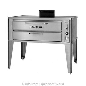 Blodgett Oven 961 SINGLE Oven, Deck-Type, Gas
