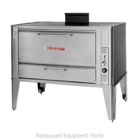 Blodgett Oven 966 SINGLE Oven, Deck-Type, Gas