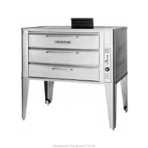 Blodgett Oven 981 DOUBLE Oven, Deck-Type, Gas