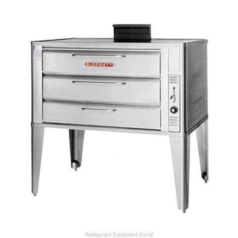 Blodgett Oven 981 SINGLE Oven, Deck-Type, Gas