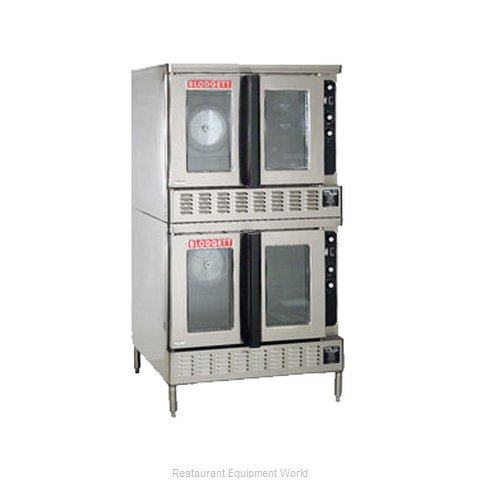 Blodgett Oven DFG-200 DBL Convection Oven, Gas