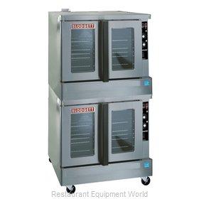 Blodgett Oven ZEPH-100-G-ES DBL Convection Oven, Gas