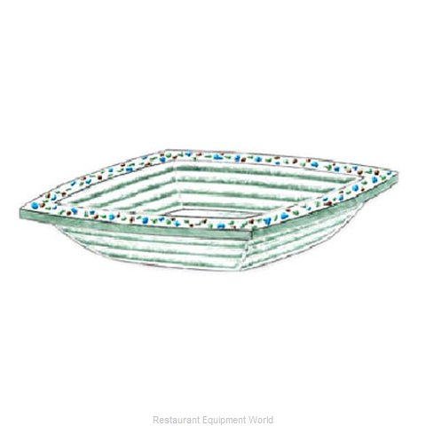 Bon Chef 100515 Soup Salad Pasta Cereal Bowl, Glass (Magnified)