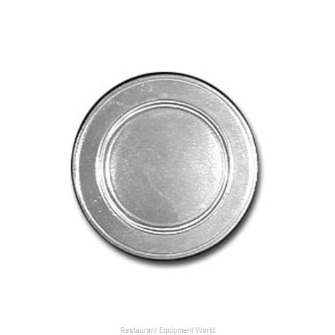 Bon Chef 1021PLUM Plate, Metal (Magnified)