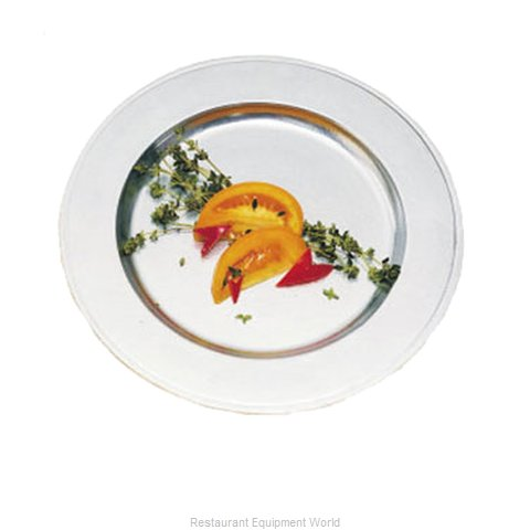 Bon Chef 1022S Plate, Metal (Magnified)