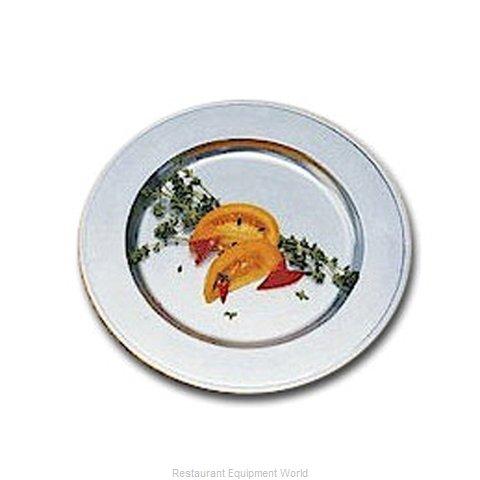 Bon Chef 1023WHTM Service Plate, Metal