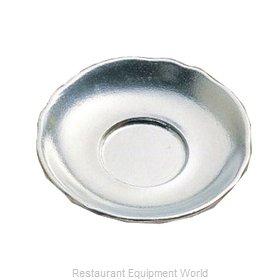 Bon Chef 1026BLKSPKLD Saucer, Metal