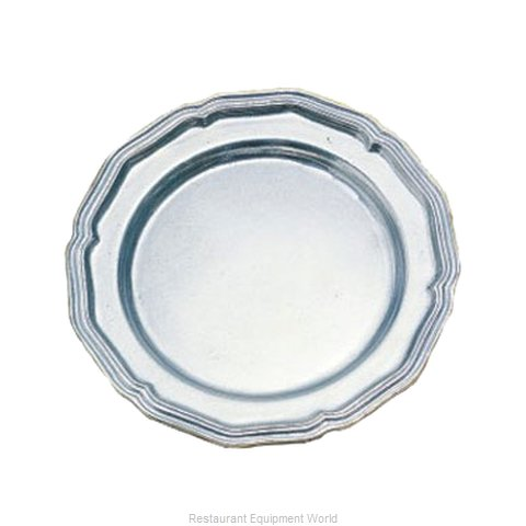 Bon Chef 1034S Plate, Metal (Magnified)