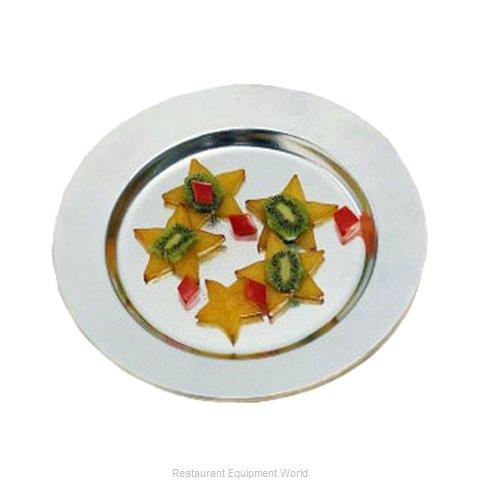 Bon Chef 1043ALLERGENLAVENDER Plate, Metal