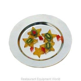 Bon Chef 1043PLATINUMGRA Plate, Metal