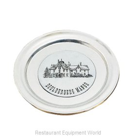 Bon Chef 1096BLK Service Plate, Metal