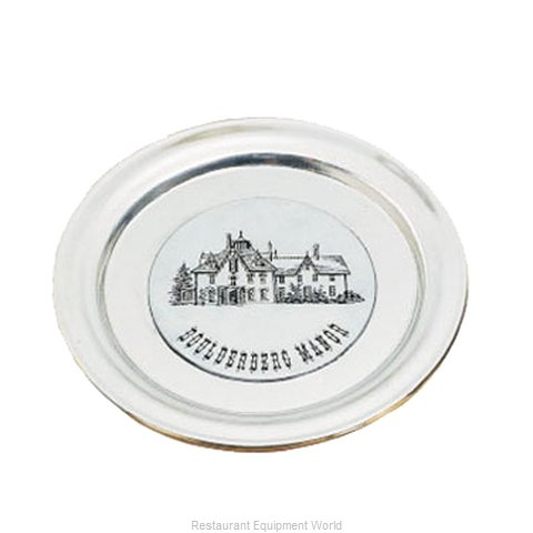 Bon Chef 1096HGRN Service Plate, Metal (Magnified)