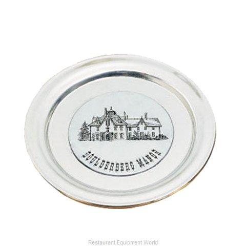 Bon Chef 1096PLATINUMGRA Service Plate, Metal