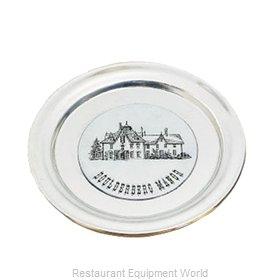 Bon Chef 1096PWHT Service Plate, Metal