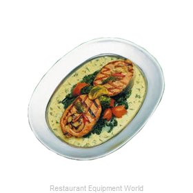 Bon Chef 2002DKBLU Platter, Aluminum