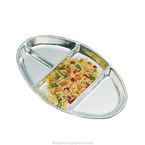 Bon Chef 2020P Plate/Platter, Compartment, Metal