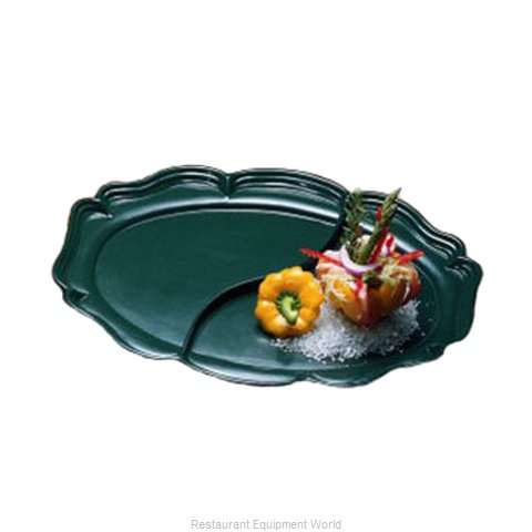Bon Chef 2028DS Platter, Aluminum (Magnified)