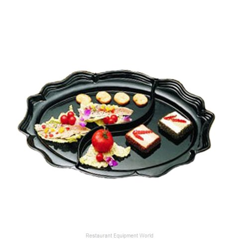 Bon Chef 2030DS Platter, Aluminum (Magnified)