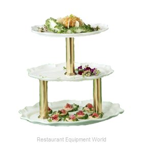 Bon Chef 2030TTRED Display Stand, Tiered