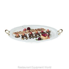 Bon Chef 2047BHLHGRN Serving & Display Tray, Metal