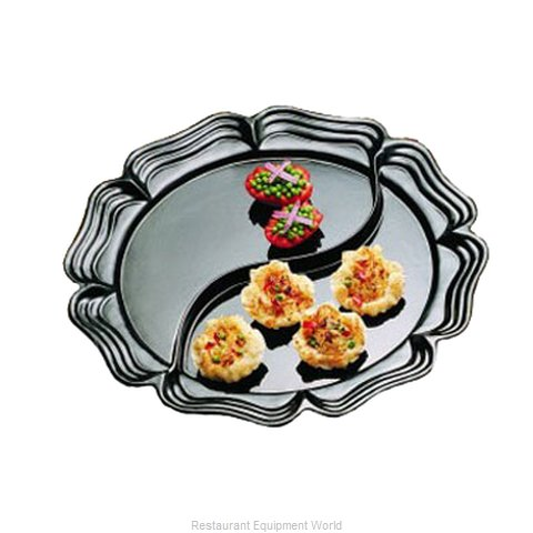 Bon Chef 2062DS Platter Aluminum (Magnified)