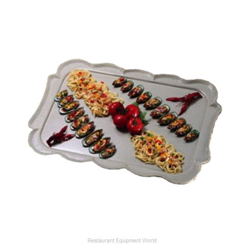 Bon Chef 2068P Serving & Display Tray, Metal (Magnified)
