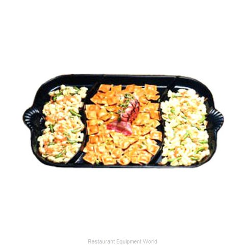 Bon Chef 2069DS Platter, Aluminum (Magnified)