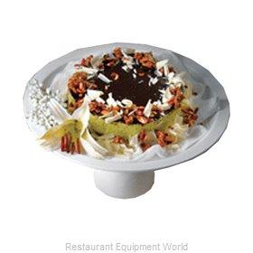 Bon Chef 2453BLKSPKLD Cake / Pie Display Stand
