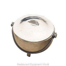 Bon Chef 3002WHTM Soup Salad Pasta Cereal Bowl, Metal